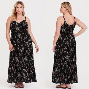 Torrid tiered maxi dress